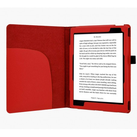 Premium Hoes Kobo Aura One ( 7.8'') Rood