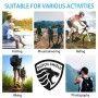 RFID Duurzaam Heuptas Anti-diefstal Reis Paspoort - Travel - Outdoor - Wandel - Sport - Telefoon Tas