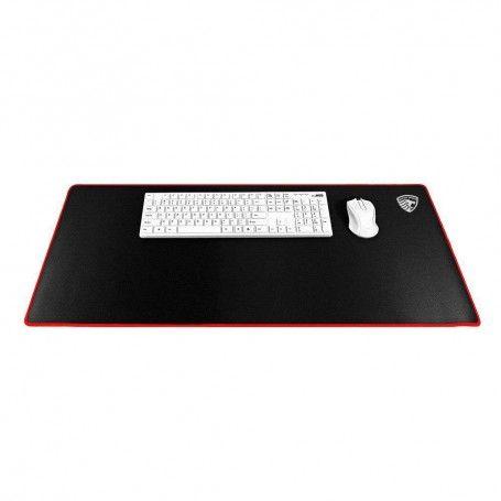 Gaming Muismat XXL Groot 900x400x3 mm Zwart-Rood