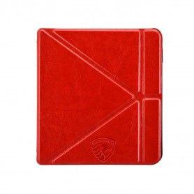 Origami Sleepcover Kobo Libra H2O Hoes Rood