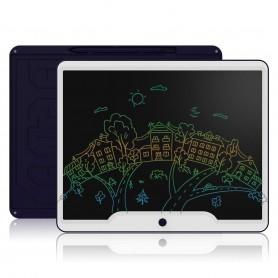 15 inch Multicolor LCD Tekenbord / LCD Teken Tablet / LCD Schrijf Tablet - Wit-Blauw
