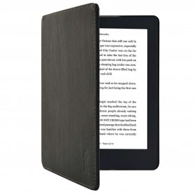 Kobo Aura H20 Edition 2 NEW Slimfit Cover Zwart met houtpatroon