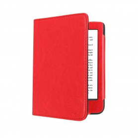 Luxe Beschermhoes Kobo Nia Cover Hoes Rood