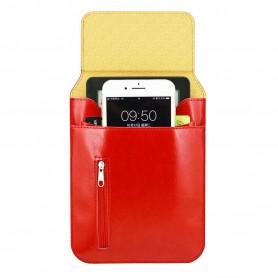 Luxe RFID Kobo Travel Sleeve Rood
