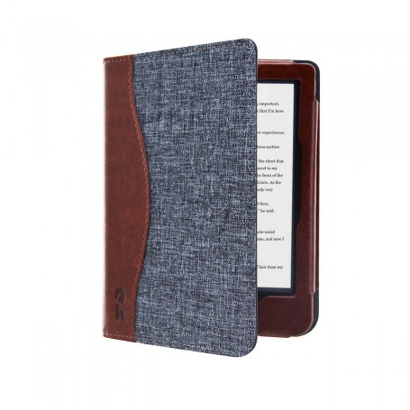 Beschermhoes Kobo Clara HD Jeans Style Cover Blauw