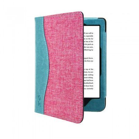 Beschermhoes Kobo Clara HD Jeans Style Cover Roze