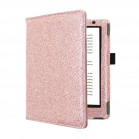 Premium Hoes Kobo Aura H2O Edition 2 Roze Sparkle