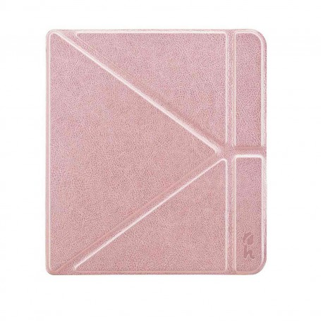 Origami Sleepcover Kobo Forma Hoes Roze Goud