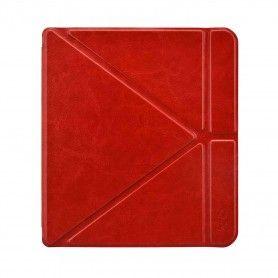 Origami Sleepcover Kobo Forma Hoes Rood